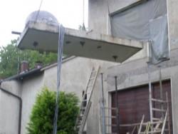 Foto Aschneiden Balkon